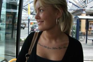 4 tatovering